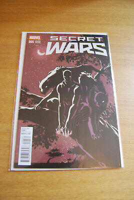 SECRET WARS #5 - Campbell Variant