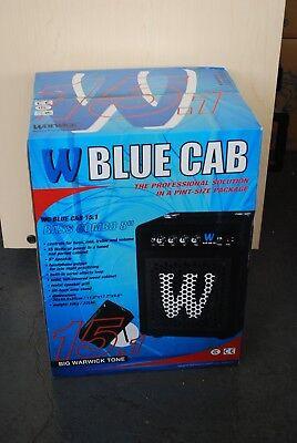 Warwick Blue Cab 15 Bass Guitar Amplifier 8