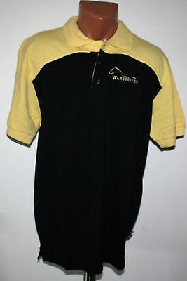 Warsteiner Herren Polo Shirt XL NEU OVP Polohemd Reitsport Pferd Bar Bier