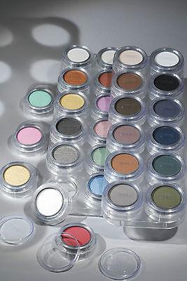 Grimas Lidschatten Eyeshadow/ Rouge 2g **Weiß, Schwarz, Gelb, Blau**