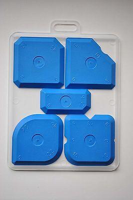 Fugenglätter (blau) Fugenabzieher, Fugenset, Fugenspachtel, Glättspachtel