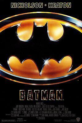 BATMAN 1989 Movie Poster 24 x 36 Looks AWESOME!!! - Batman 1989 Poster