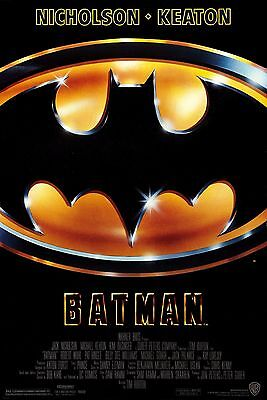 BATMAN 1989 Movie Poster 24 x 36 Looks AWESOME!!!