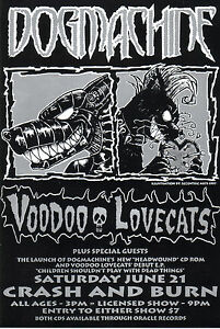 Dogmachine-Voodoo-Lovecats-original-gig-flyer-from-1997