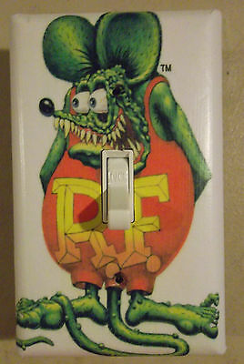 Rat Fink Rat Rod Light Switch Plate Cover