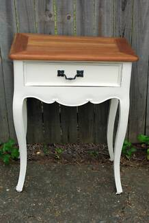 French provincial vintage bedside table Moorooka Brisbane South West Preview