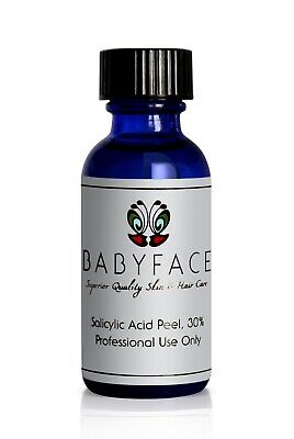 Babyface 30% Salicylic Acid BHA Chemical Peel, Acne Blackhea