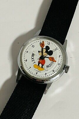 Vintage Mickey Mouse Watch 17 Jewels