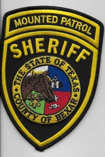 Bexar County Sheriff Mounted Patrol Police State Texas TX
