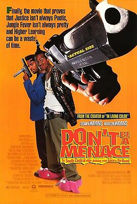 DON'T BE A MENACE TO SOUTH CENTRAL... (1996) ORIGINAL MOVIE POSTER  -
