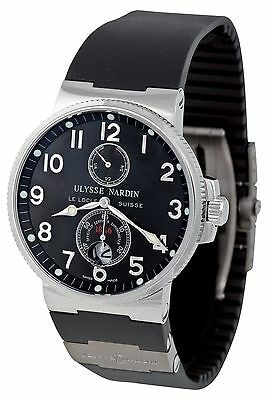 Ulysse Nardin Men's Maxi Marine Black Dial Chronometer Automatic Watch 263663/62