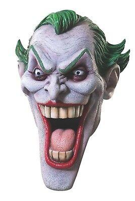 Rubies Dc Joker Deluxe Latex Maske Batman Bösewicht Erwachsene Halloween - Rubies Kostüm Batman Maske