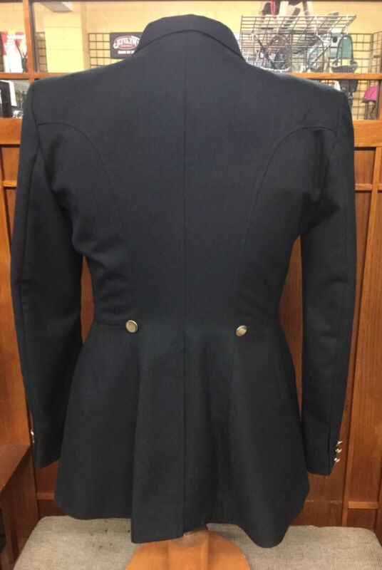 Pre-Owned Beaufort 14L Dressage Coat - Black W/Olive Lining