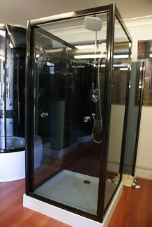 NEW PIVOT SHOWER SCREEN ENCLOSURE BATHROOM CUBICLE - 8002