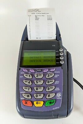 Verifone Vx510 Dual Comm Ethernetdial Scr 6mb