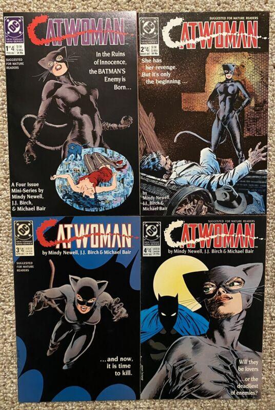 CATWOMAN # 1 2 3 4 (1989) Complete Mini Series