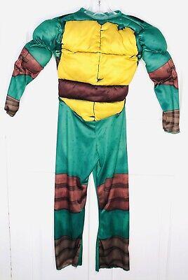 TMNT Turtle Girls Boys Medium Halloween Costume-JUMPSUIT ONLY Costume Outfit (Tmnt Girls Kostüme)