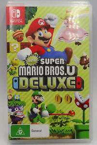 NINTENDO SWITCH NEW SUPER MARIO BROS U DELUXE GAME 238553