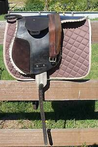 """15"""" Traditional Brown Leather Pony Pad Sorell Sorell Area Preview"""