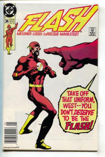 Flash 34 2nd Series DC 1990 NM