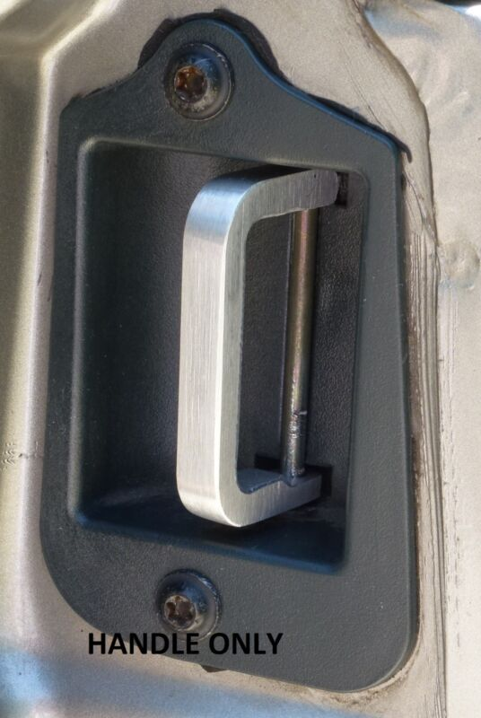 Third 3rd Door Handle S-10 / GMC 1996 - 2004 Aluminum