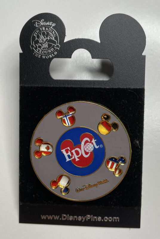 Disney Trading Pins 5166 WDW - Epcot Flags Spinner