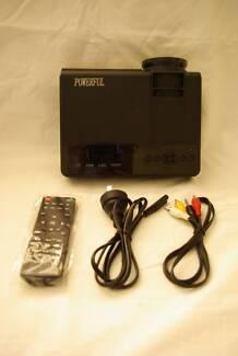 """Powerful""; multimedia digital projector (brand new)"