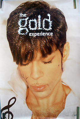 RARE PRINCE THE GOLD EXPERIENCE 1995 VINTAGE MUSIC RECORD STORE PROMO POSTER