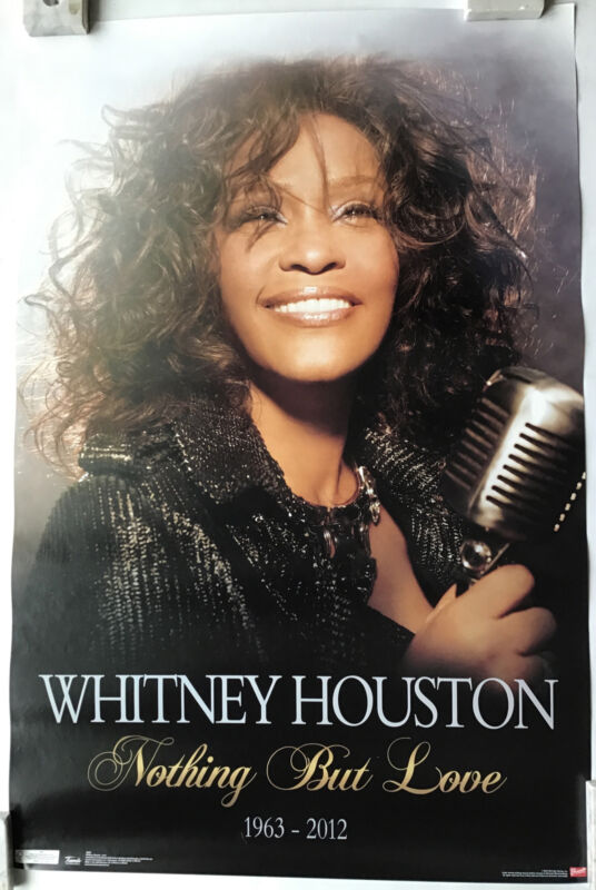 Whitney Houston Nothing But Love Dates Poster