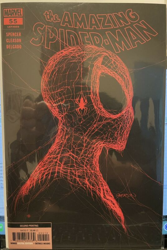 The Amazing Spider-Man #55 Gleason Trade Second Printing