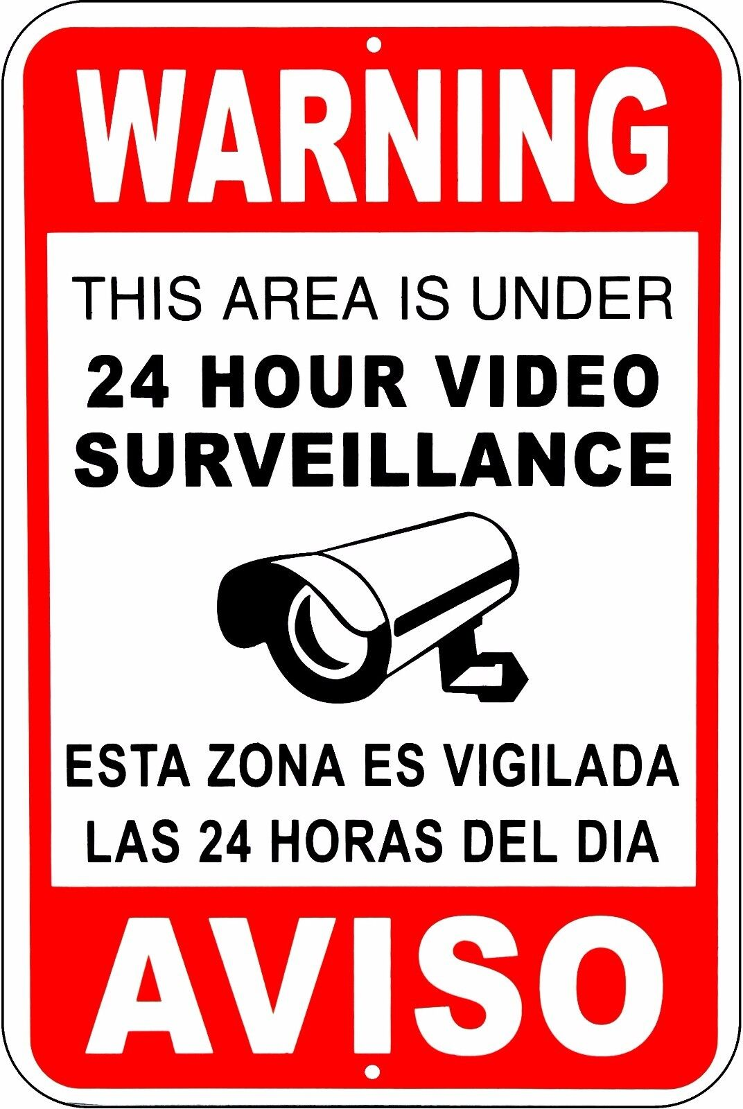 this property under video surveillance sign - HD 1624×2560