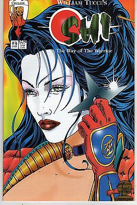 SHI: THE WAY OF THE WARRIOR #4 WILLIAM TUCCI NEAR MINT