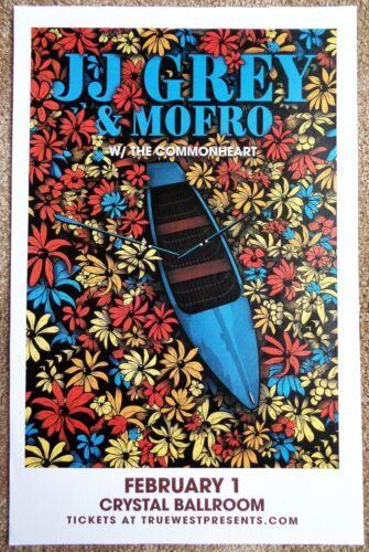 JJ GREY & MOFRO 2019 Gig POSTER Portland Oregon Concert