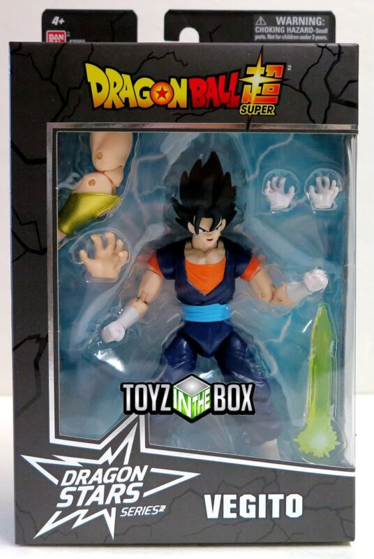 "In STOCK Bandai Dragon Ball Stars Dragonball Super ""Vegito"" Action Figure"