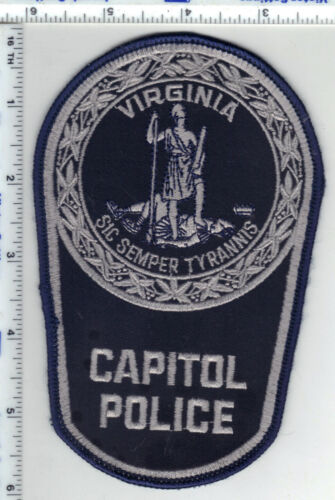 Capitol Police (Virginia) Shoulder Patch from the 1980
