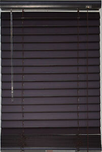 Faux Wood Blinds 72 X 72 Ebay