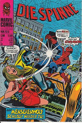 Die SPINNE Nr. 126 (0-1) TOPZUSTAND WILLIAMS RECHT spider-man