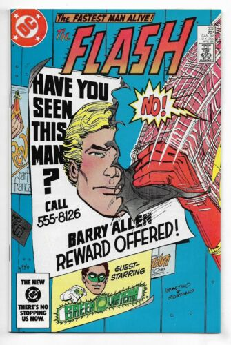 Flash 1984 #332 Very Fine