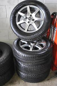 """4 SET 14"""" SPORT ALLOY WHEELS 4x100 STUD PATTERN + GOOD CONDITION Virginia Brisbane North East Preview"""