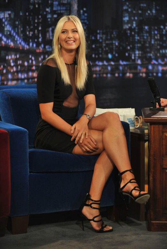 Maria Sharapova Sitting On The Tv Show 8x10 Photo Print
