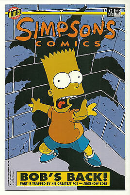 Simpsons Comics 1993 #2 Near Mint 1st Print