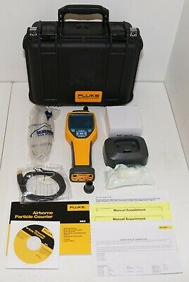 Fluke 985 6 Channel Indoor Air Quality Meter Particle Counter Iaq .3um To 10um