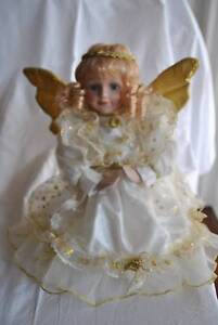 Porcelain Praying Angel Doll Karrinyup Stirling Area Preview