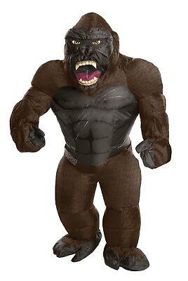 Rubies King Kong Aufblasbar Riese Gorilla Tier Erwachsene Halloween Kostüm