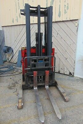 Raymond Easi R30tt 3000lb Lift 24v Electric Forklift Stand On 1 Yr Old Battery