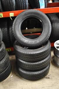 4 SET TYRES 205-75-R16C + ALMOST NEW + FITTING AND BALANCING Virginia Brisbane North East Preview