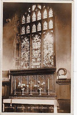 Memorial Chapel, St. Mary's Church, RUSHDEN, Northamptonshire RP