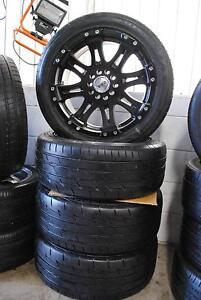 "4 SET 17"" ALLOY WITH TYRES FOR UTE HILUX , FORD , HOLDEN PATTERN Virginia Brisbane North East Preview"