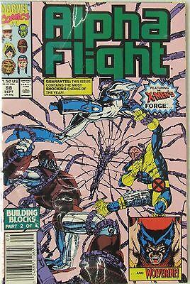 Marvel Comics Alpha Flight #88 (Sep 1990, Marvel)