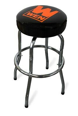 WEN 73016 300-Pound Capacity Chrome-Plated Shop Bar Stool